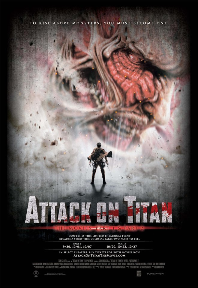 Attack on Titan: End of the World Large Poster