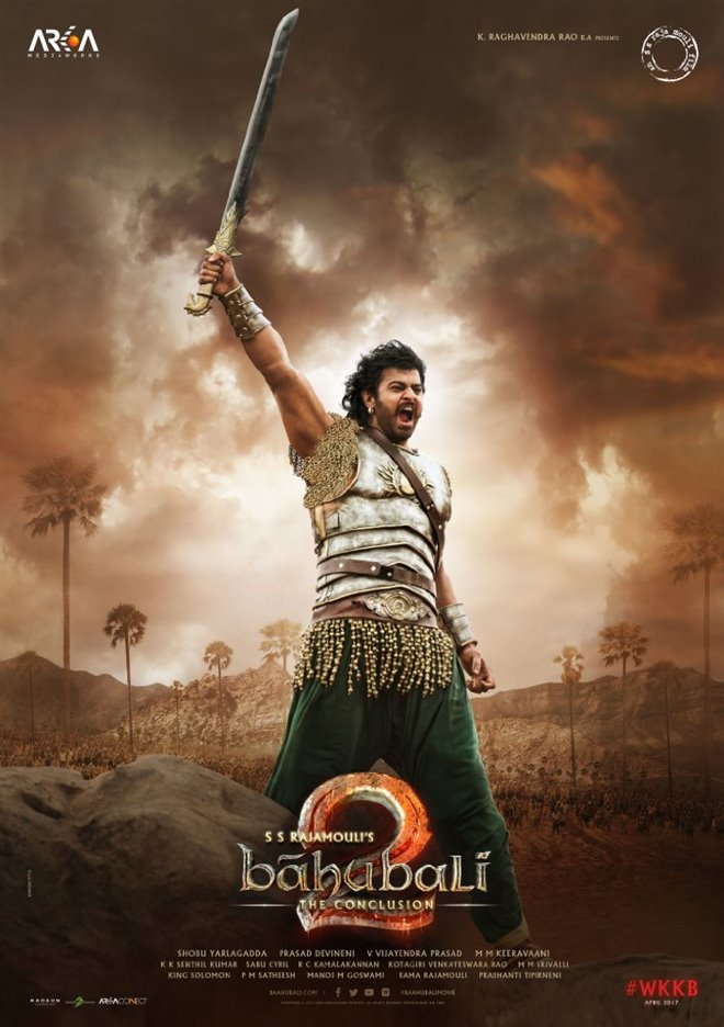Baahubali 2: The Conclusion (Tamil) Large Poster