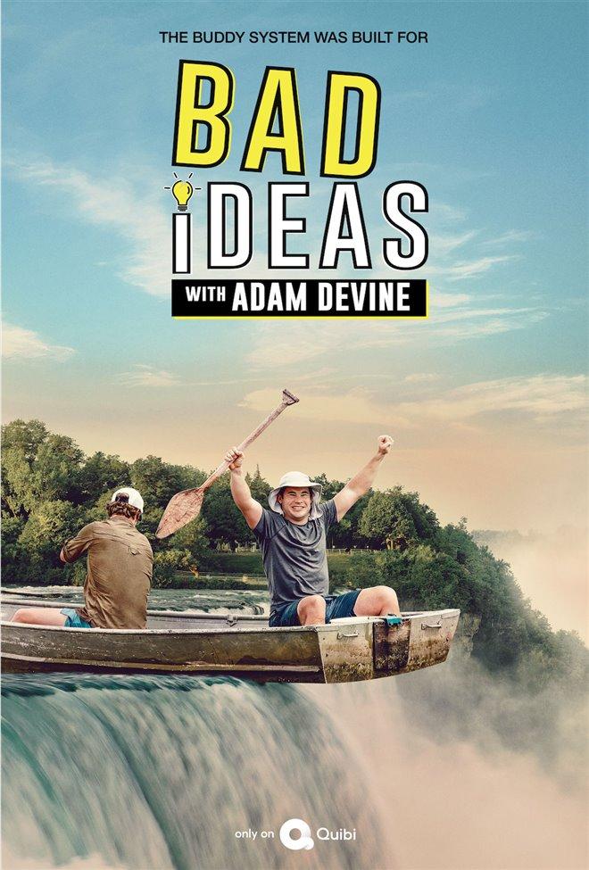 Bad Ideas with Adam Devine (Quibi) Large Poster
