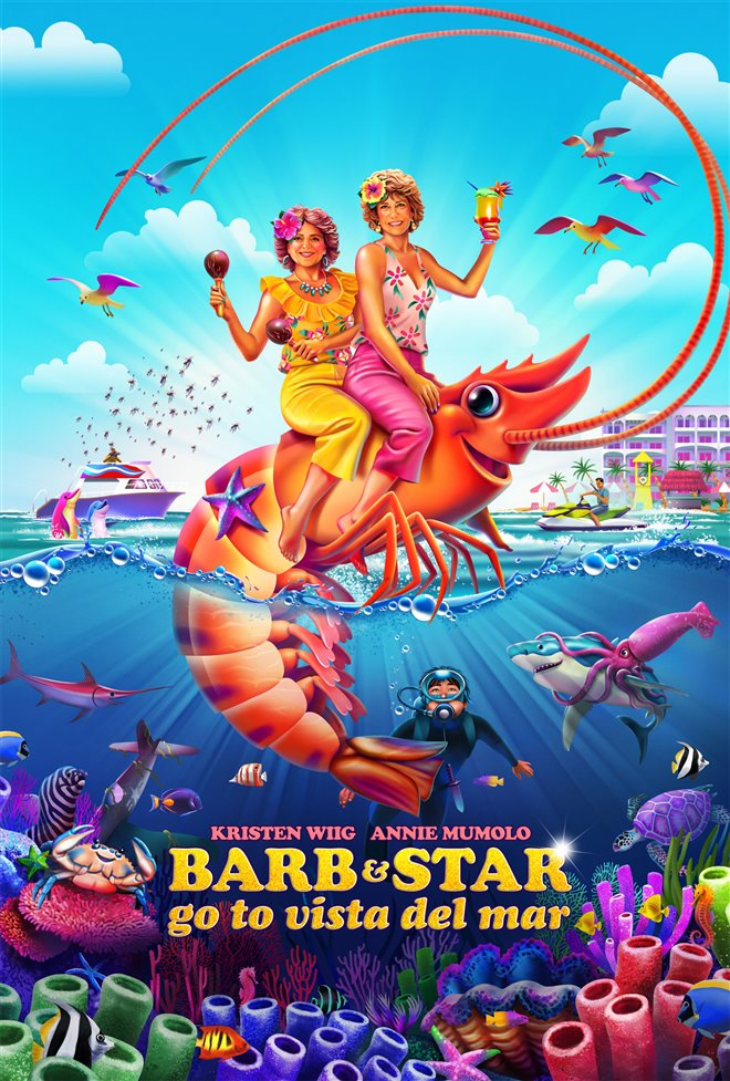 Barb & Star Go to Vista Del Mar Large Poster