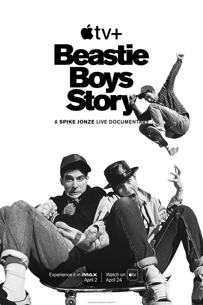 Beastie Boys Story (Apple TV+) Large Poster