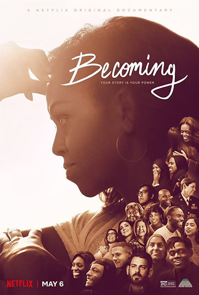 Becoming (Netflix) Large Poster