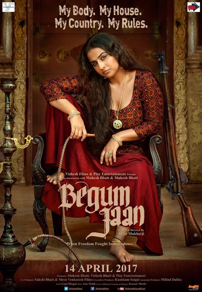 Begum Jaan Large Poster