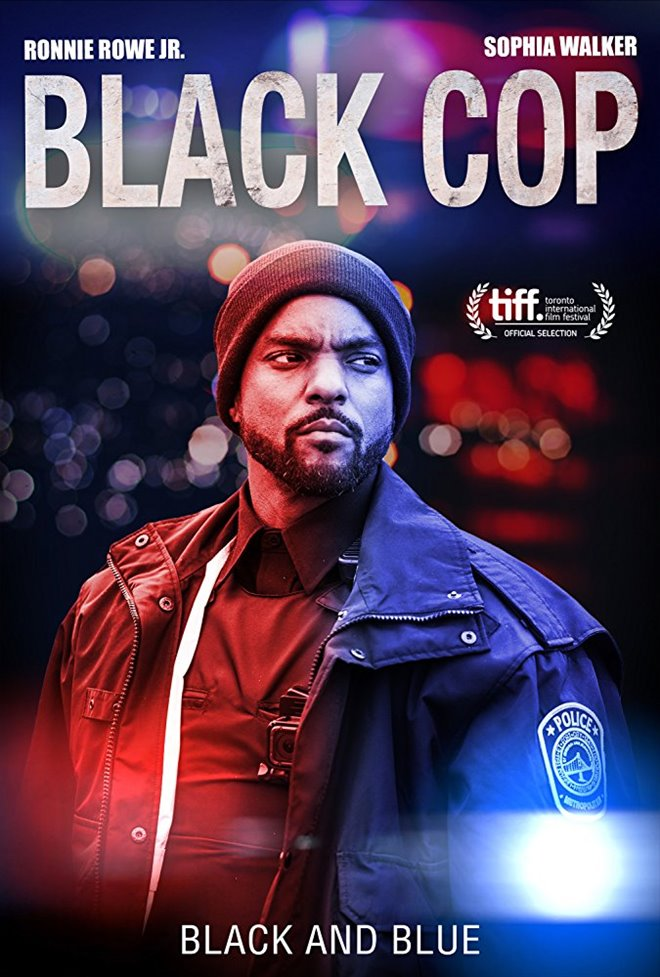 Black Cop Large Poster