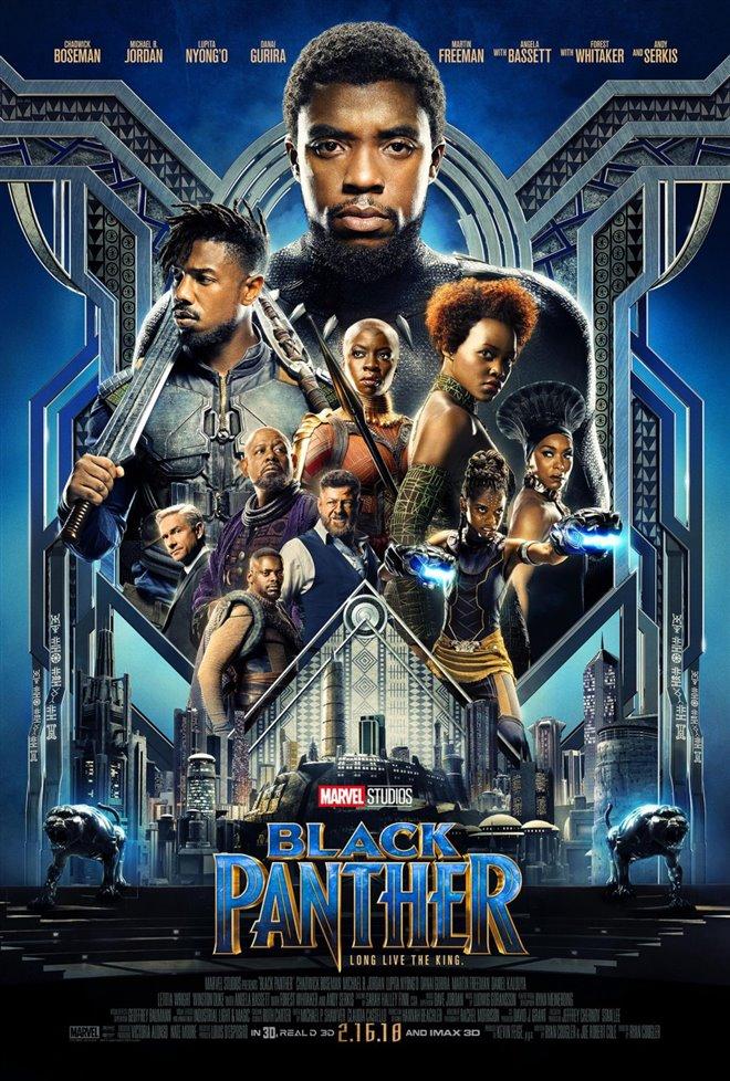Black Panther Large Poster