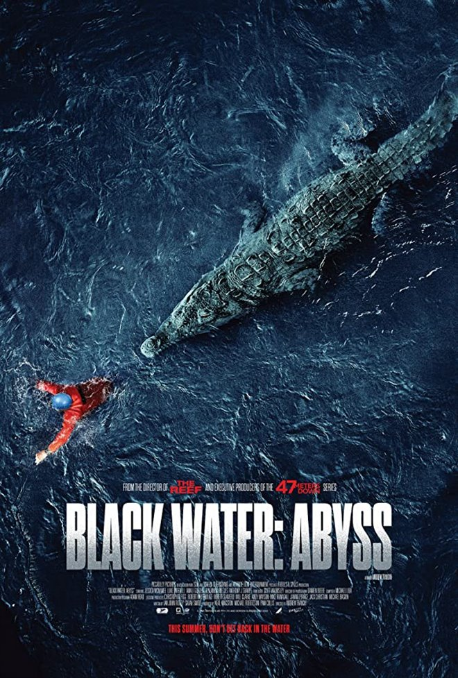 Black Water: Abyss Large Poster