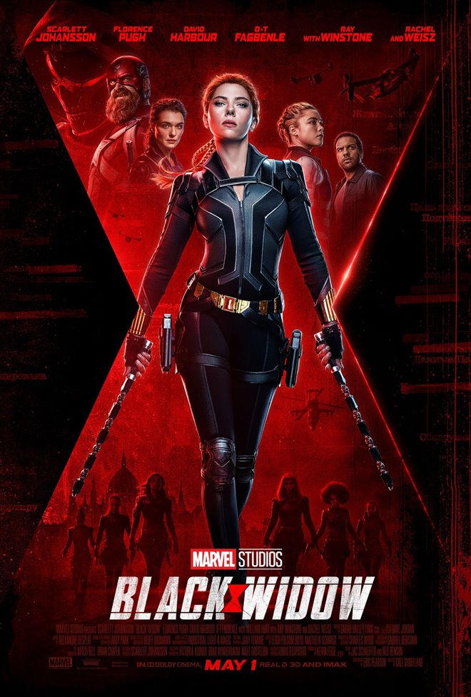 Black Widow Large Poster