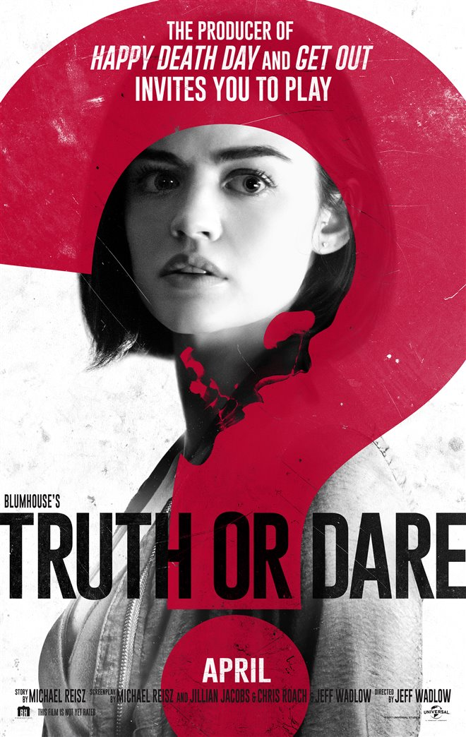 Image result for blumhouse truth or dare movie poster