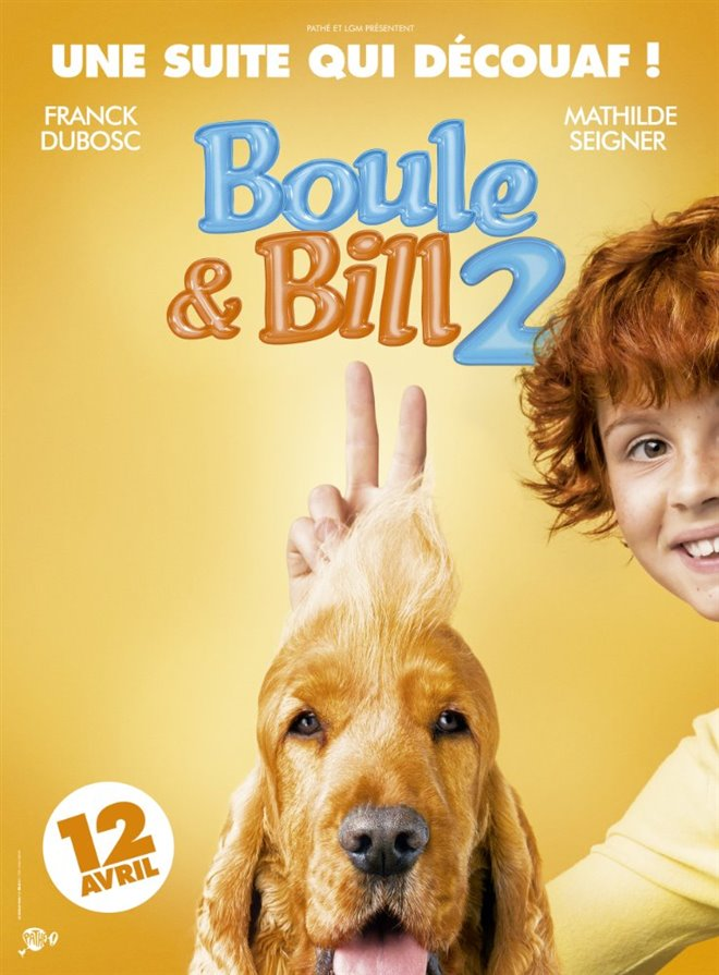 Boule & Bill 2 Large Poster