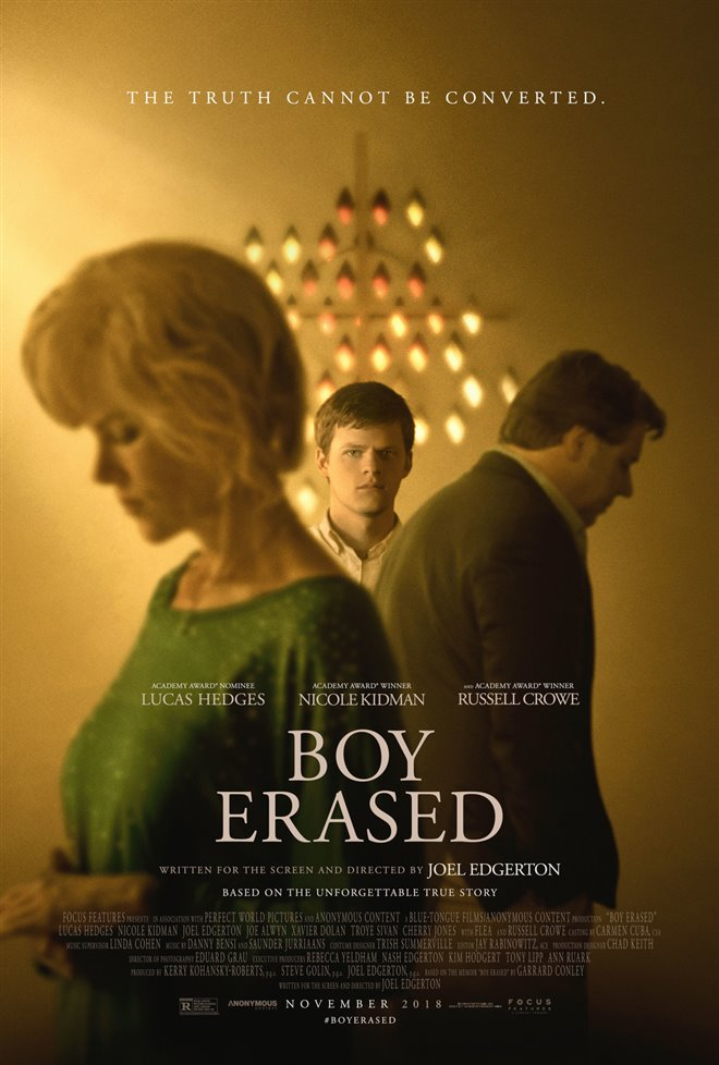 Boy Erased Large Poster