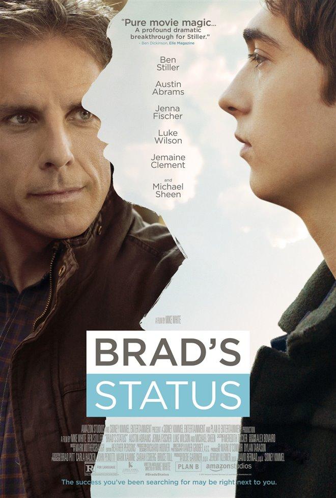 Brad's Status Large Poster