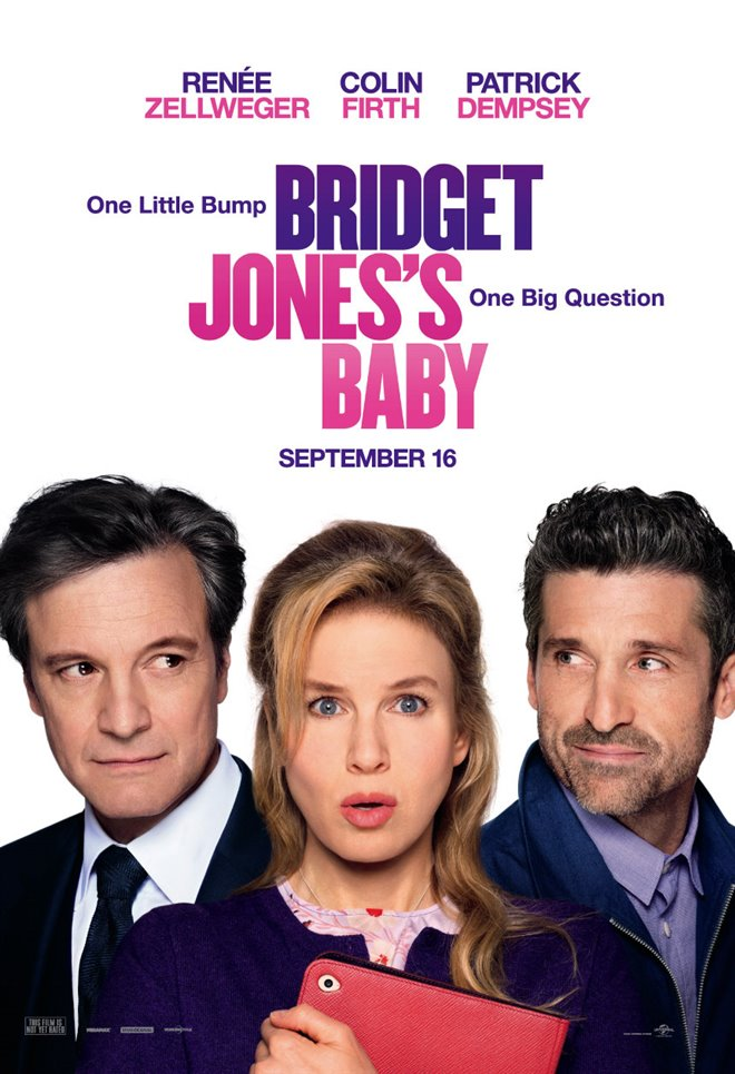 Bridget Jones's Baby Large Poster