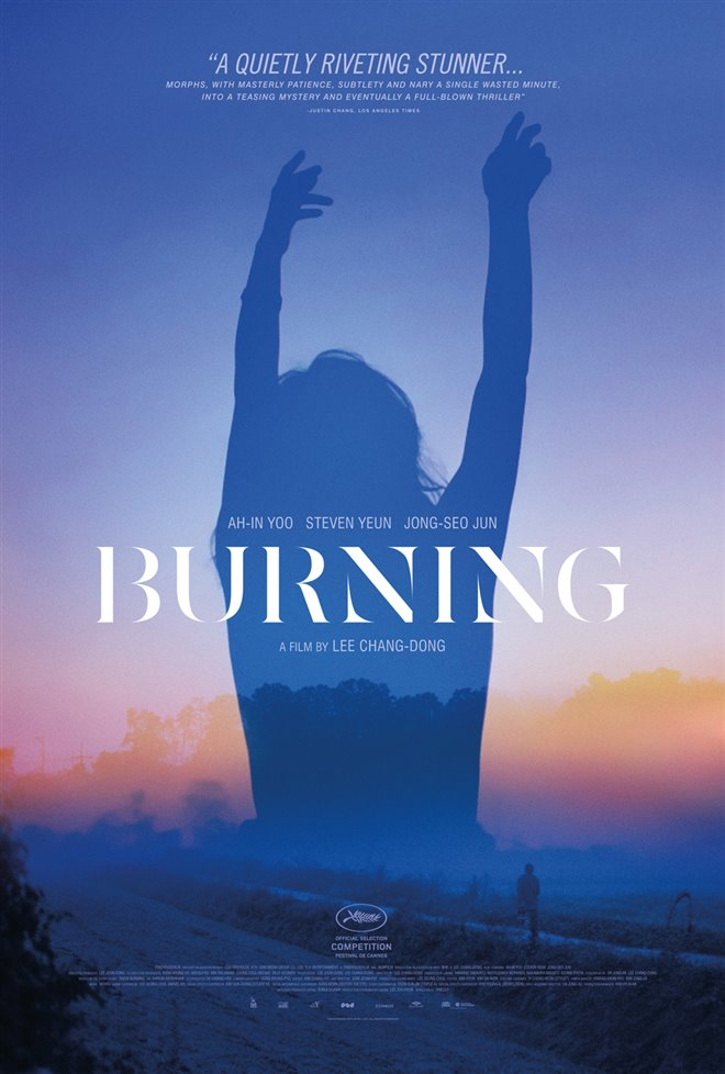 Burning Large Poster