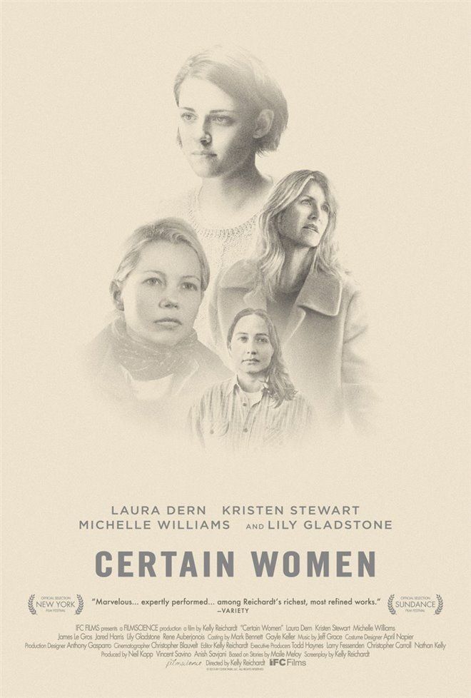 Certain Women Large Poster