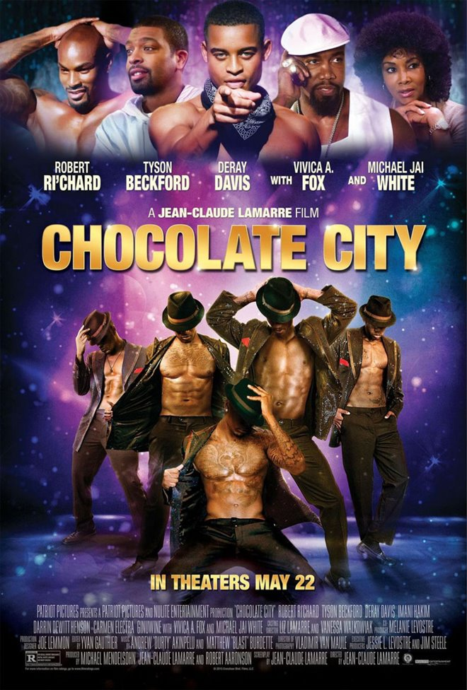 Chocolate City Large Poster