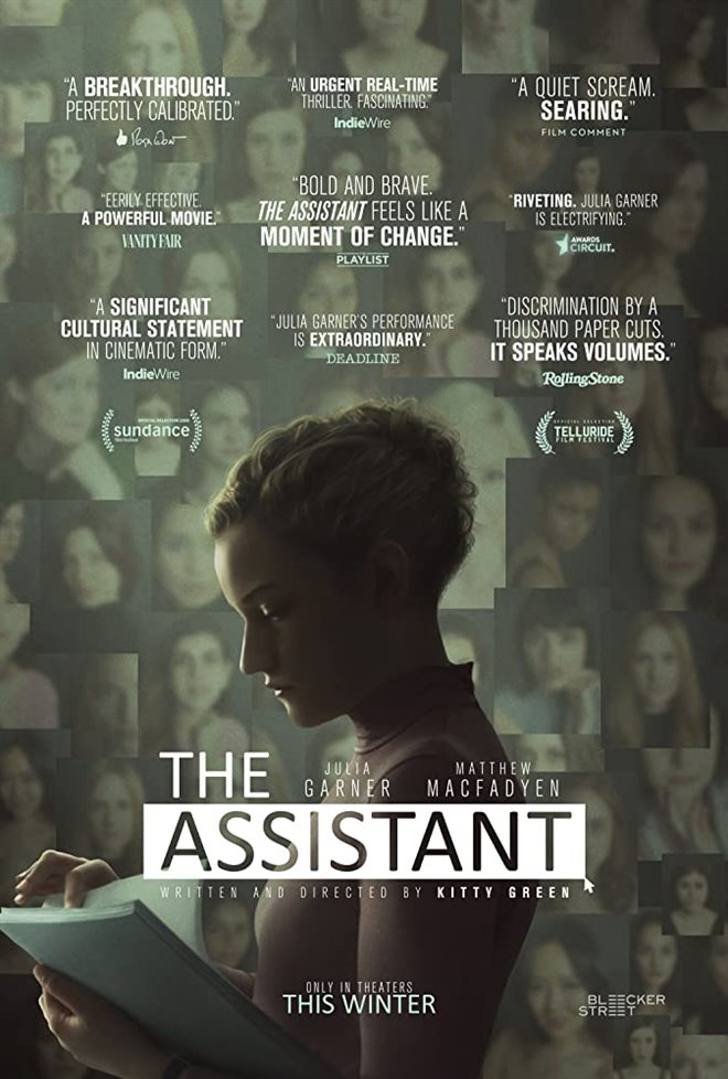 Cinematheque at Home: The Assistant Large Poster
