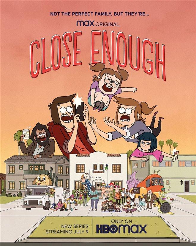 Close Enough (HBO Max/Netflix) Large Poster