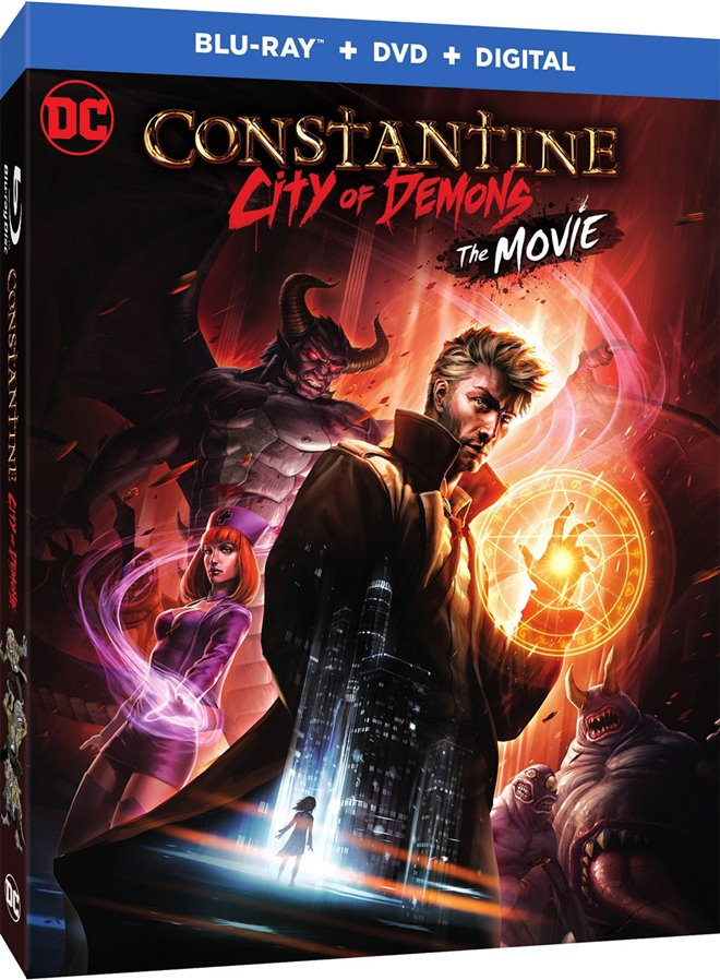 Constantine: City of Demons Large Poster