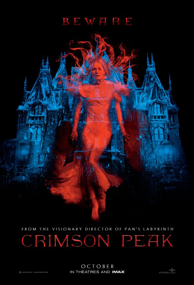 Crimson Peak Large Poster