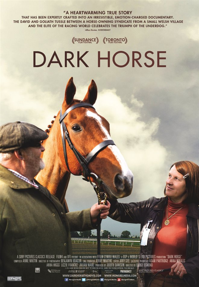 Dark Horse Large Poster
