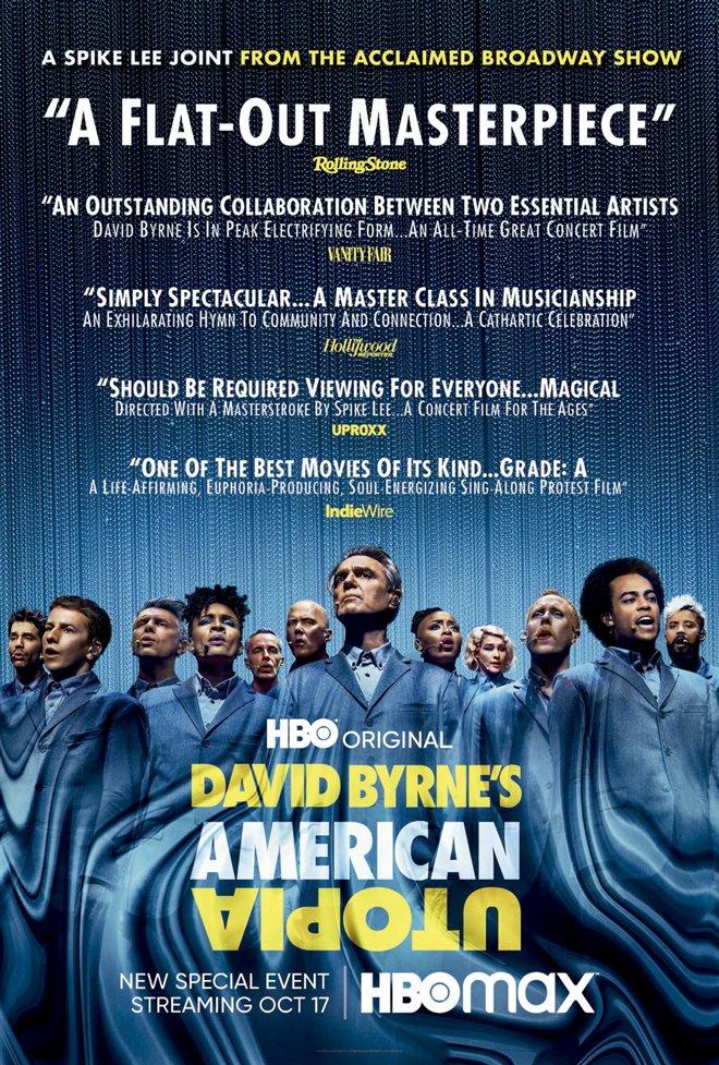 David Byrne's American Utopia Large Poster