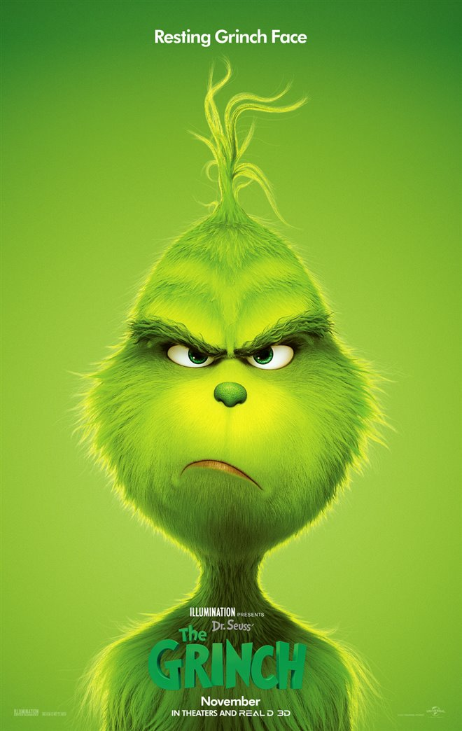 Dr. Seuss' The Grinch Large Poster