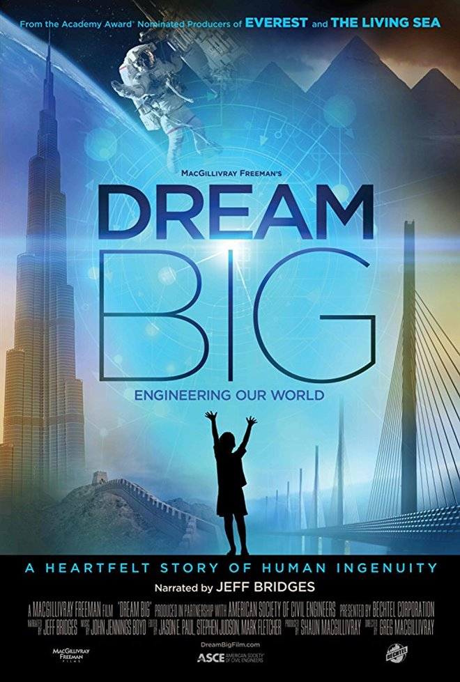 Dream Big: Engineering Our World Large Poster
