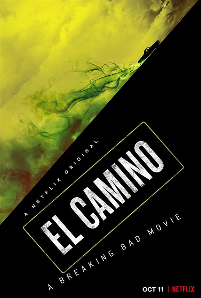 El Camino: A Breaking Bad Movie Large Poster