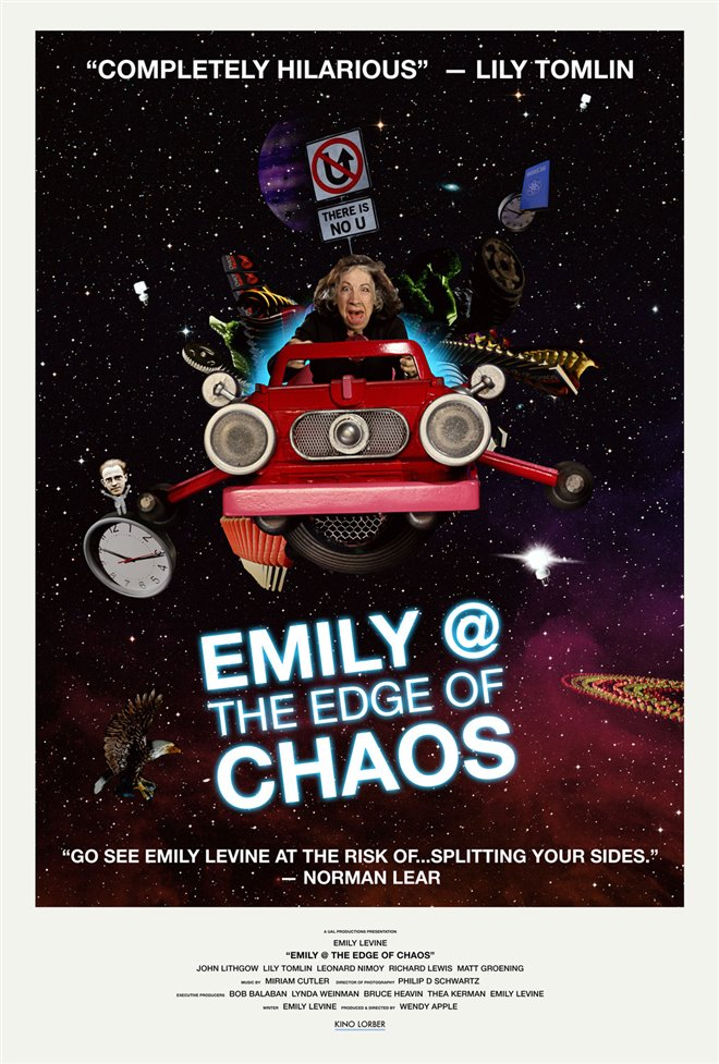 Emily @ the Edge of Chaos Large Poster