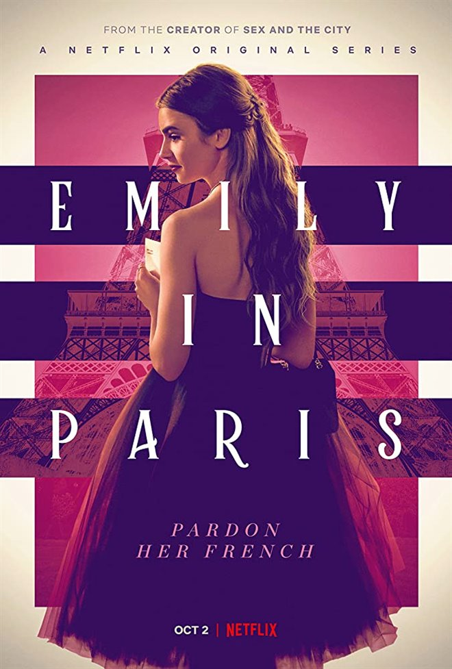 Emily in Paris (Netflix) Large Poster