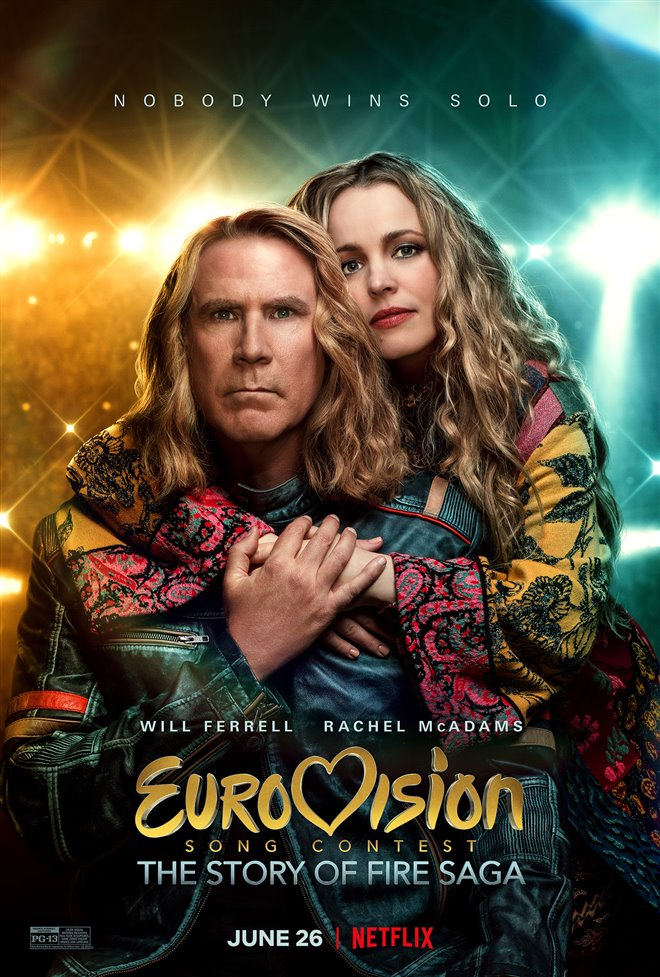 Eurovision Song Contest: The Story of Fire Saga (Netflix) Large Poster