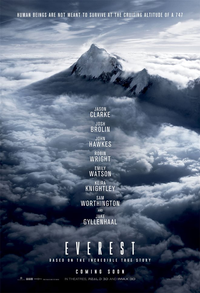 Everest Large Poster