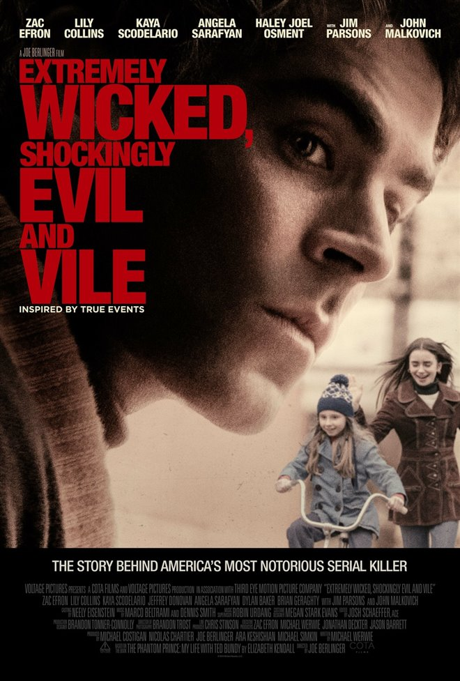 Extremely Wicked, Shockingly Evil and Vile (Netflix) Large Poster