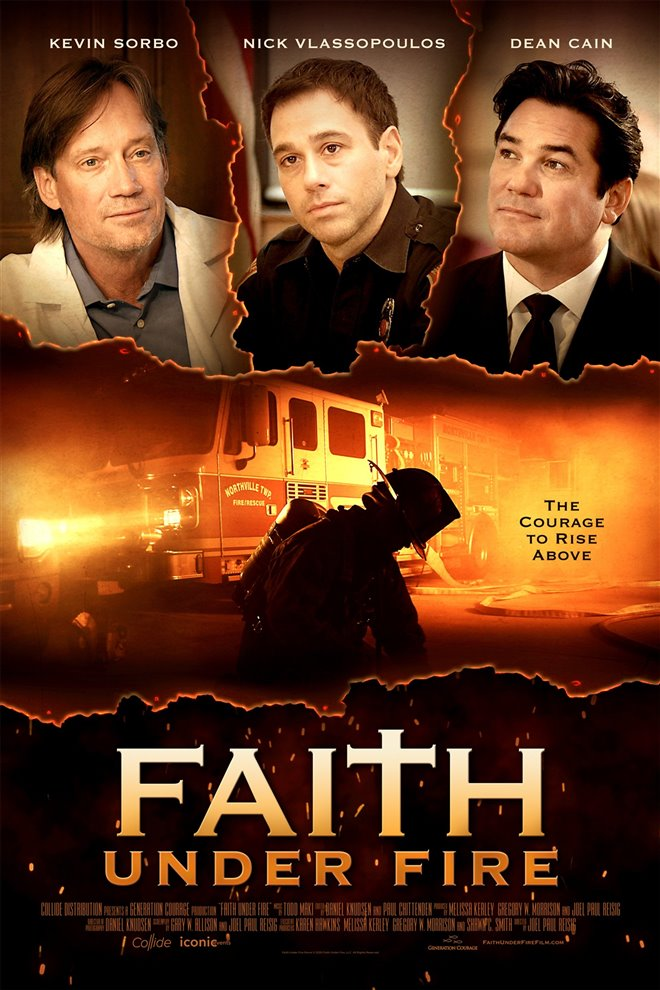 Faith Under Fire Large Poster