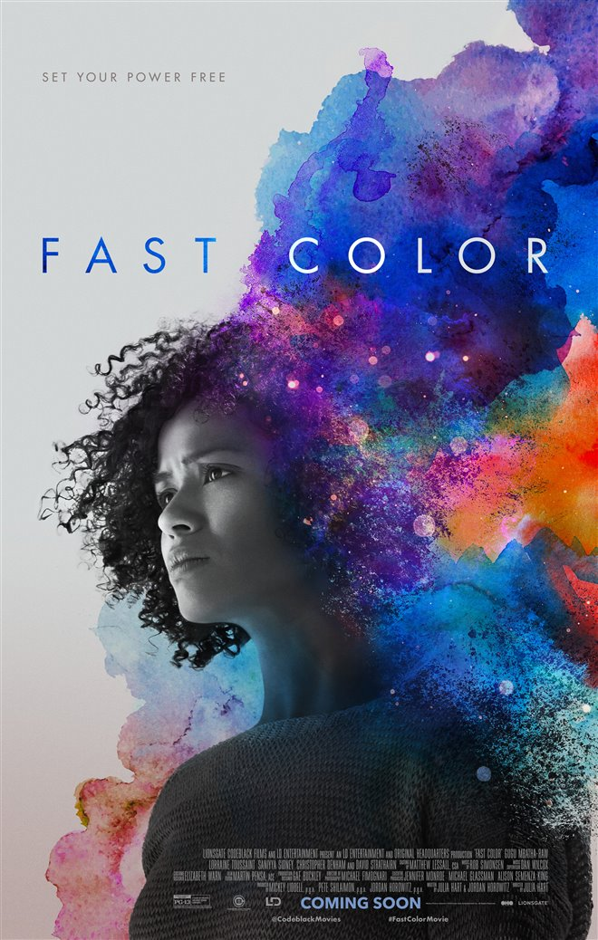 Fast Color Large Poster