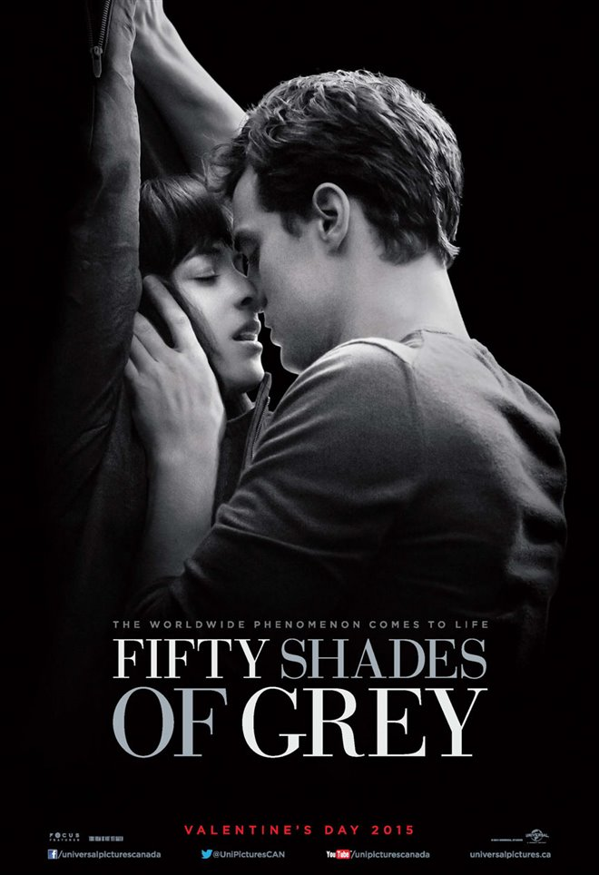 fifty shades of grey movie large poster. Black Bedroom Furniture Sets. Home Design Ideas