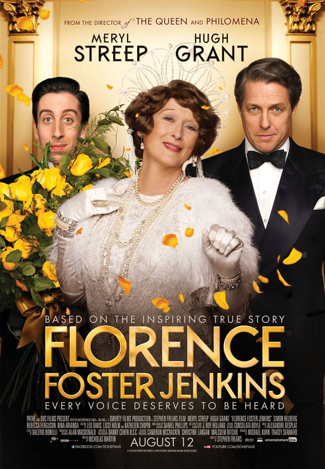 Florence Foster Jenkins Large Poster