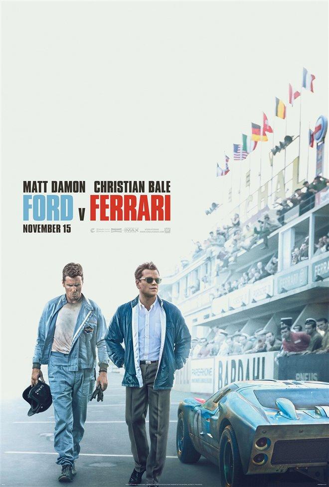 Ford v Ferrari Large Poster