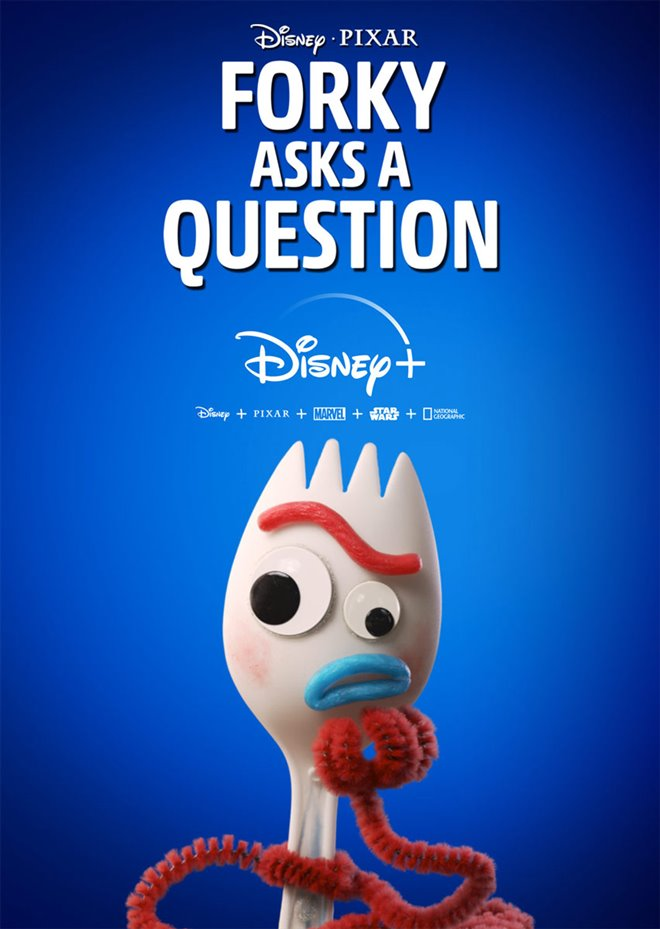Forky Asks A Question (Disney+) Large Poster