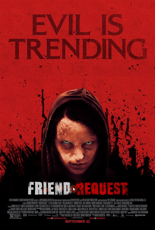 Friend Request Large Poster