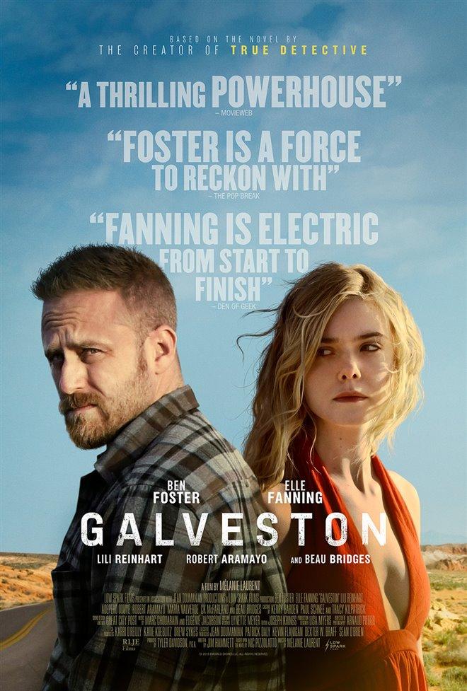 Galveston Large Poster