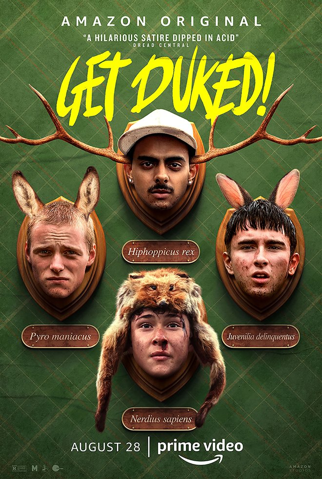 Get Duked! (Amazon Prime Video) Large Poster