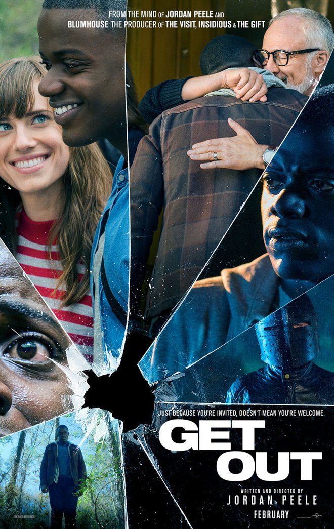 Get Out Large Poster