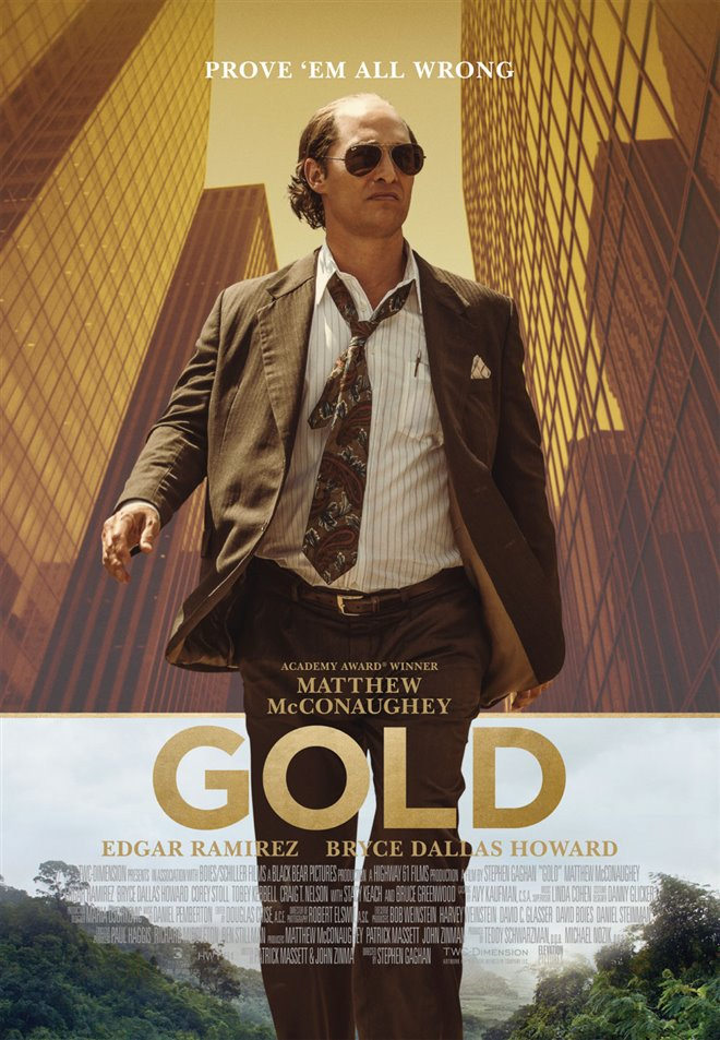 Gold Large Poster