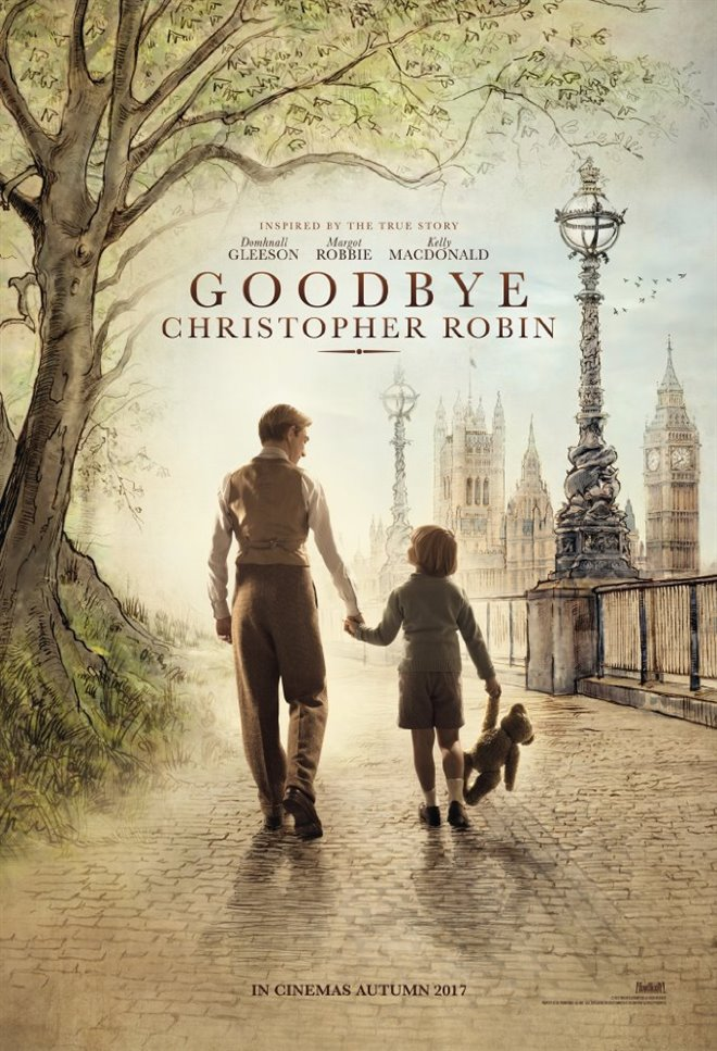 Goodbye Christopher Robin Large Poster