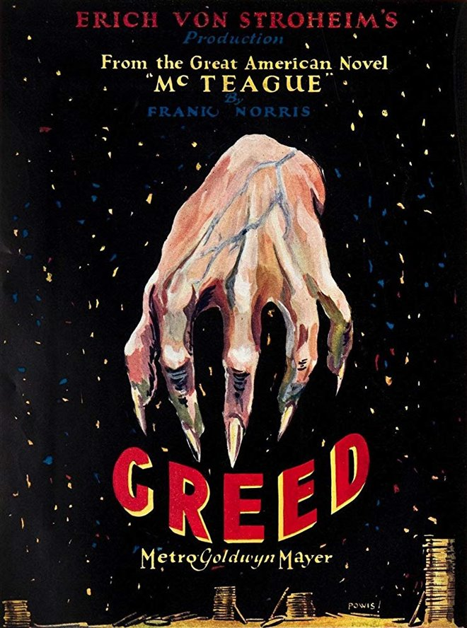 Greed (1924) Large Poster