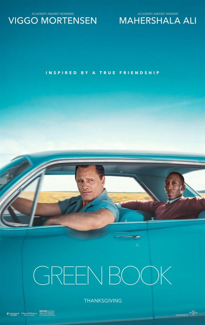 Green Book Large Poster