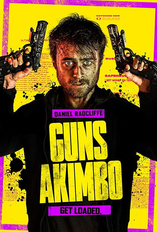 Guns Akimbo Large Poster
