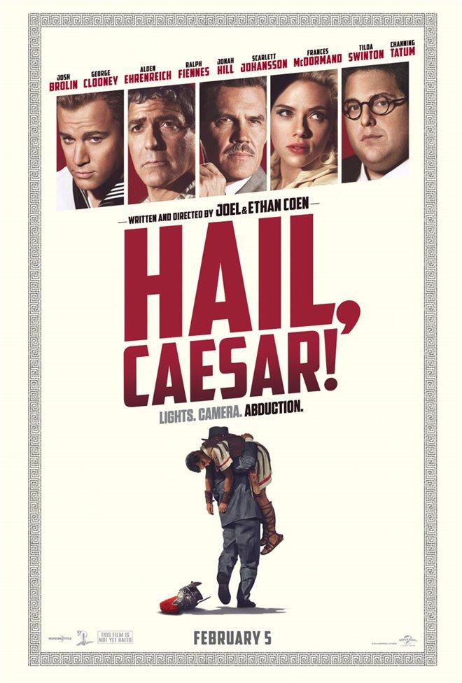 Hail, Caesar! Large Poster