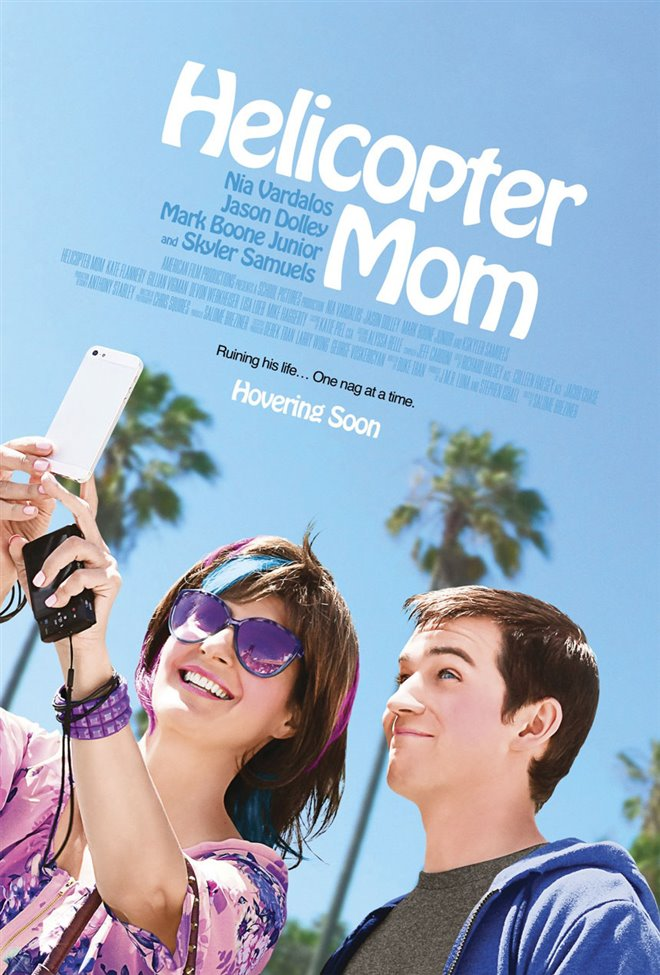 Helicopter Mom Large Poster